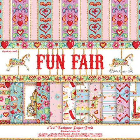 Dovecraft 6x6 - Fun Fair by Helz Cuppleditch